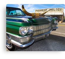 Goodsprings Cadillac Metal Print