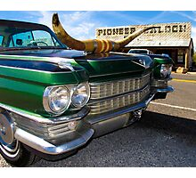 Goodsprings Cadillac Photographic Print