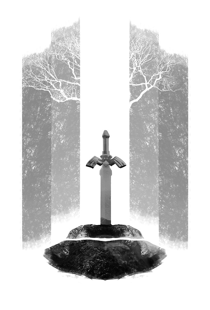 The Legend of Zelda: The Master Sword by Bendragon
