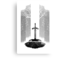 The Legend of Zelda: The Master Sword Metal Print