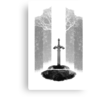 The Legend of Zelda: The Master Sword Canvas Print