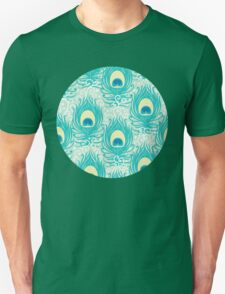 Peacock feathers pattern Unisex T-Shirt