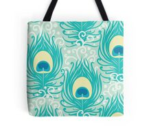 Peacock feathers pattern Tote Bag