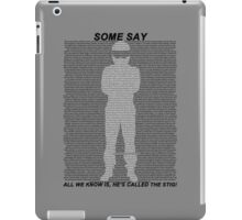 The Stig iPad Case/Skin