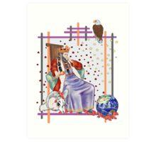 The Tarot Emporer  Art Print