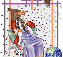 The Tarot Emporer  by redqueenself