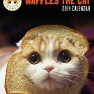 Waffles the Cat Calendar by derlaine