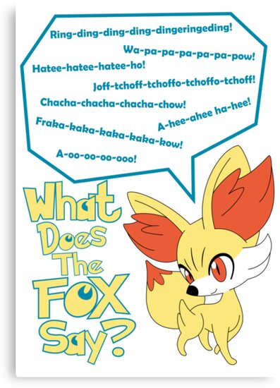 What Does Fennekin Say? by Scotty4815