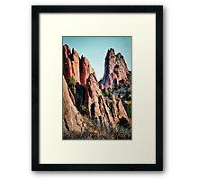 Make Believe Castles Framed Print