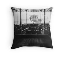 The Launch Throw Pillow