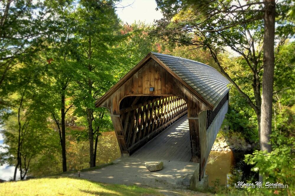 Henniker Covered Bridge by Monica M. Scanlan