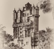 The Hollywood Tower Hotel by Brett Kiger