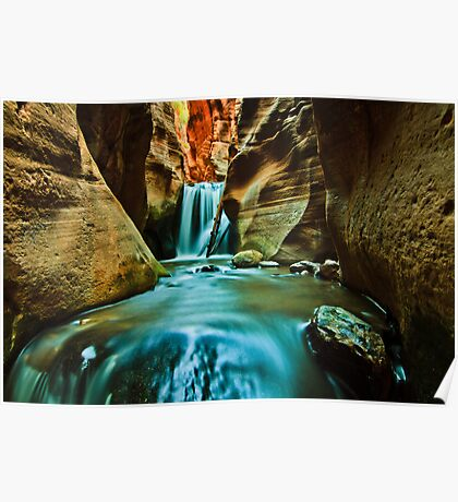Canyon Carving Poster