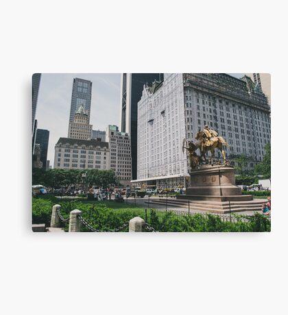 The Plaza Canvas Print