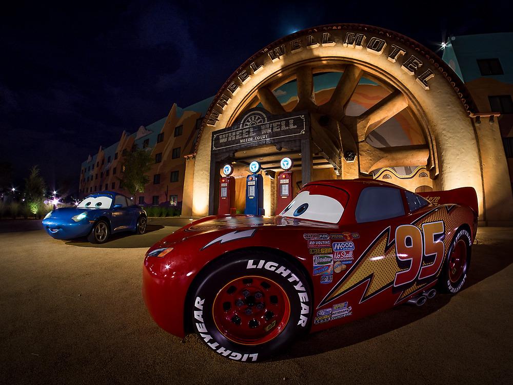Wheel Well Motel by Brett Kiger