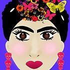 Frida Khalo  by capricedefille