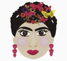 Frida Khalo  Baby Tee