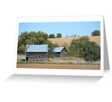 Rural Farmstead Greeting Card