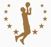 Basketball Player Star Logo by Style-O-Mat