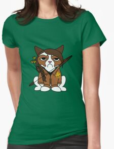 Grumpy Katniss Womens Fitted T-Shirt