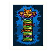 Totem-lly Radical Art Print