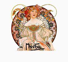 Mucha – Flower Girl Unisex T-Shirt