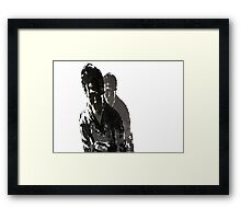 Misunderstood Boy Framed Print