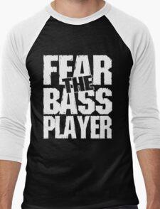 Fear the bass player Men's Baseball ¾ T-Shirt