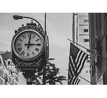 Don's Clock Photographic Print