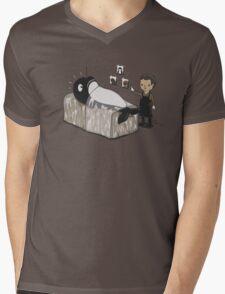 Serial Killer Whale Mens V-Neck T-Shirt