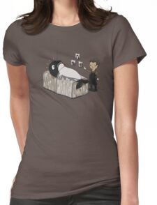 Serial Killer Whale Womens Fitted T-Shirt