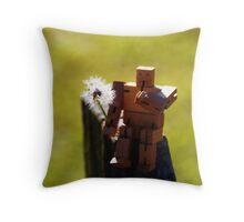 Making a Wish Throw Pillow