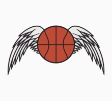 Basketball Angel Wings Design by Style-O-Mat