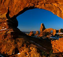 Looking Through The Eye by American Southwest Photography