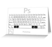 Photoshop Keyboard Shortcuts Opt+Cmd Greeting Card