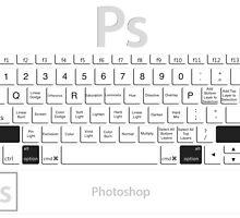 Photoshop Keyboard Shortcuts Opt+Shift by Skwisgaar