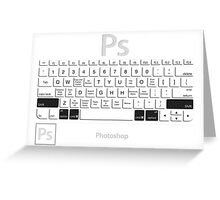 Photoshop Keyboard Shortcuts Opt+Cmd+Shift Greeting Card