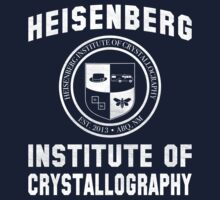 Heisenberg Institute of Crystallography - Breaking Bad by Dawar Rashid
