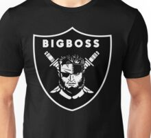 Raiders x Metal Gear Solid - Big Boss (Raiders) Unisex T-Shirt