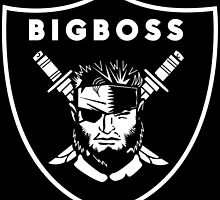 Raiders x Metal Gear Solid - Big Boss (Raiders) by btnkdrms