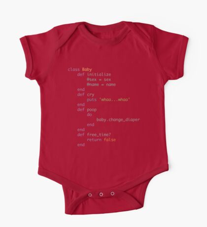Coding daddies and mommies One Piece - Short Sleeve