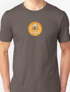 Orange Robot T-Shirt