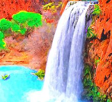 Havasu Falls Grand Canyon by BrianJoseph
