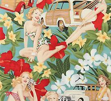 Pin Up Girls by ElectricNeff