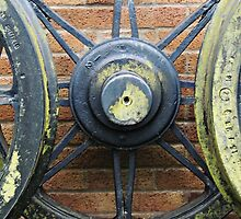 Broad Gauge Wheel Abstract by Alexandra Lavizzari