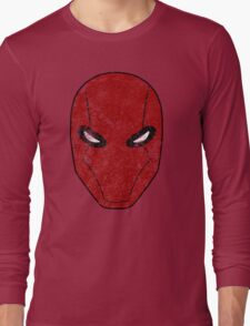 Red Hood Mask  Long Sleeve T-Shirt