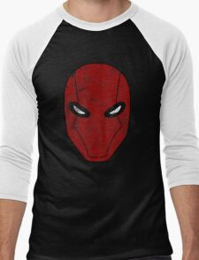 Red Hood Mask  Men's Baseball ¾ T-Shirt