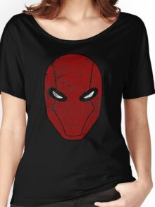 Red Hood Mask  Women's Relaxed Fit T-Shirt