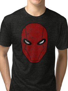 Red Hood Mask  Tri-blend T-Shirt