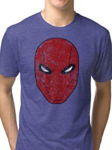 Red Hood Mask  Tri-blend T-Shirt